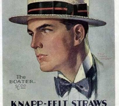 Straw Boater
