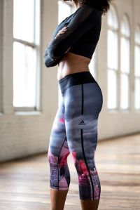 Adidas workout tights
