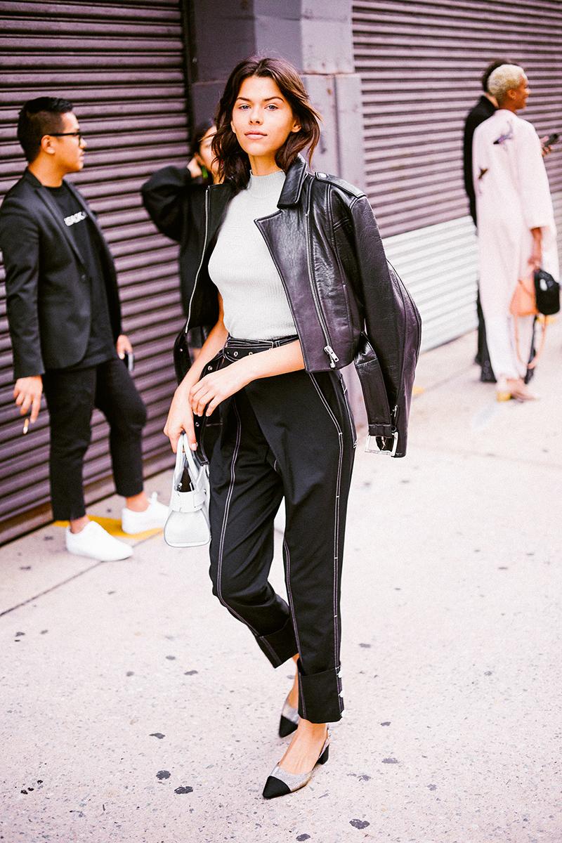 Street Style Fashion Week Sept 2017 Spring Summer 18 Man