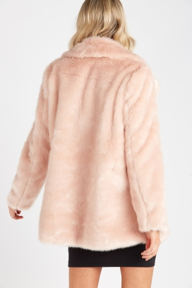 Faux Fur Coat by Supre